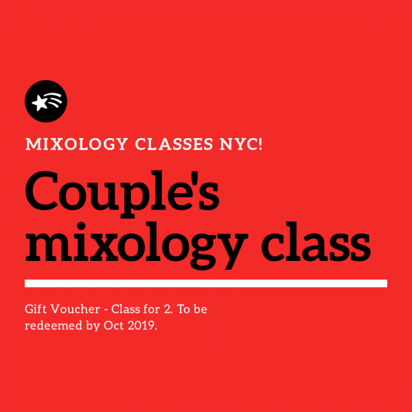 mixology gift voucher